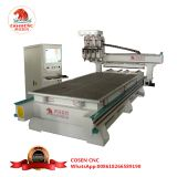 four heads cnc woodworking router machine