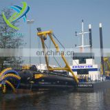 China good price cutter suction dredger in the river