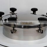 tank cover stainless steel manway covers manhole cover sanitary manway used for tank kettle