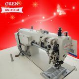 No bobbin chain stitch flat industrial sewing machine