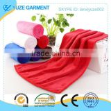 microfiber bath towel, colorful car cleaning towels, hotel towels
