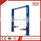 High Quality Double Hydraulic Cylinders 4500kg two post car lift/hoist with CE Certification