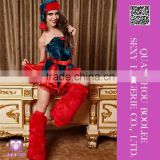 Latest cheap price most popular Sexy Elf Christmas Costume Women sexy halloween costumes