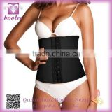Newest High Quality sexy black strap latex corset waist cinchers
