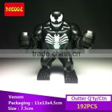Decool bricks 0182 SuperHero 7.5cm action Figures Venom Model Minifigure Building bricks Blocks Toys