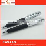 2014 new soft leather with high quality leather ball pen