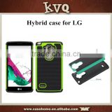 New Arrival 2 in 1 Hybrid bumper back Mobile Phone Case for LG Fx0