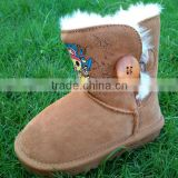 2013 cheap snow boots buttons snow boots kids snow boots wholesale children snow boots OEM processing
