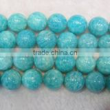 Factory Price 2mm 4mm 6mm 8mm 10mm 12mm Natural amazonite round bead gemstone loose beads
