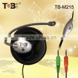 Bulk buy from China ear-hook cheap on ear headphone for computer laptop TB-M215