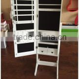 Wooden MDF frame dressing mirror with jewelry box home furniture armoire full size                                                                         Quality Choice