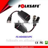 Folksafe video and power balun convert signal passive rj45 with high line power tranmitter