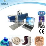 Eastern high quality laser logo printing machine for plastic paper wood with CE &FDA