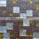 SG01 Glass and Ceramic Mosaic Tile, Ceramic wall tile, Decorative glass wall art, Background wall mosaic tile