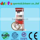 commercial popcorn machine with cart