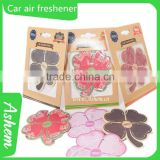 custom decoration car hanging perfume hotel air freshener paper customized high heel car air freshener, DL971