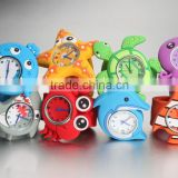 Novelty marine animals Watch Lovely Silicon Rubber Slap Watch Multi Color