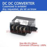 dc step down converter 12V/24V to 5V 10A 50Wmax for LED display Waterproof