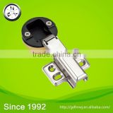 at logistic center soft closing hydraulic full overlay glass door hinge                                                                         Quality Choice