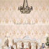 polyester non-woven embroidery wallpaper provencal 3d wallpaper for walls 3d wallpaper for home decoration                                                                         Quality Choice