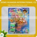 2014 OEM battery operated Lighted elephant bubble gun with suger/candy