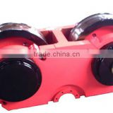 Potent quality 50 QC staffs keen price Hot Forged bridge crane rail wheels gantry crane wheels for wheel mounted crane