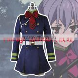 halloween Seraph of the end Hiiragi Shinoa 3d japanese anime cosplay costume                                                                                                         Supplier's Choice