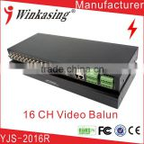 16 Channel Security system Video Balun