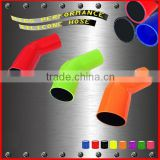 Elbow 45 Degree Polyester Reinforced Silicone Hose/degree standard elbows silicone hose high working temperature