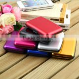 High quality Waterproof Business ID Credit Card Wallet Holder /Aluminum Metal Case/credit card storage bag