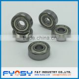 Good quality inch size miniature ball bearing 1616ZZ 1616 2RS deep groove ball bearing