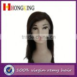 Natural Remy Human Hair Front Lace Wig In India Made In China