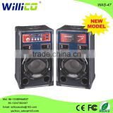 Latest 12'' stage dj box active pa sound system professional speaker with LCD display
