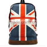 beautiful fashion UK flag bags backpack