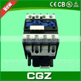 cngz brand 2015 hot sale magnetic ac contactor electric contactors 1p ac vacuum contactor prices good quality