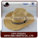 lifeguard brown paper straw cowboy hats