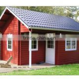 log cabins prefab house steel structure villa homes