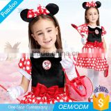 Hot Sale Halloween Party Cute Anime Minnie Children Costume Bulk