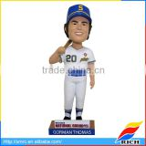 Best custom bobblehead company baseball bobble head for cars