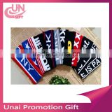 Free shipping brand USA supreme yellow red black color HEADBAND Fashion Sport sweatband basketball sweatband Summer must have