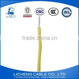 China manufacturer Yellow House wiring aluminum core PVC Insulated electric wire and cable -BLV(2.5mm2)