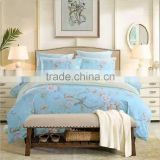 Factory Directly 100 Polyester Microfiber Pigment Printed Quilt Cover Set