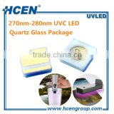 Deep 280nm 3535 SMD Germicidal UVC LED For UV Disinfection