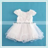 Children Rose Flower Girls Princess Dresses Baby Birthday Party Wedding Dresses Kids Summer Fashion Dress For Birthday