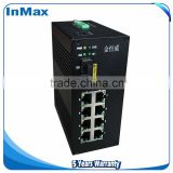 12v-36v DC 7+3G Gigabit Managed Industrial Ethernet Switch i610A