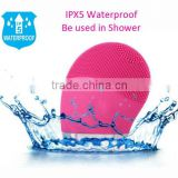 bpsk1068 IPX5 waterproof sonic face cleanser brush for facial sensitive skin
