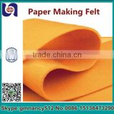 high quality Polyester Plain Fibre use for paper making,spare parts of dry Felt for paper making machine