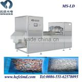 Belt type color separating machine for plastic granules, plastic color sorter machine
