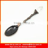 Cheap Gift Coppery Mini Metal Spoon