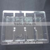 Blister Process PVC Vacuum Formed plastic Tray for Electronic